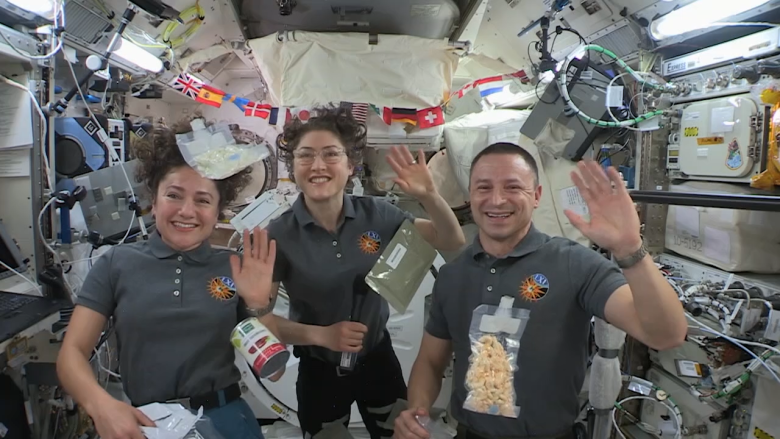 space station thanksgiving