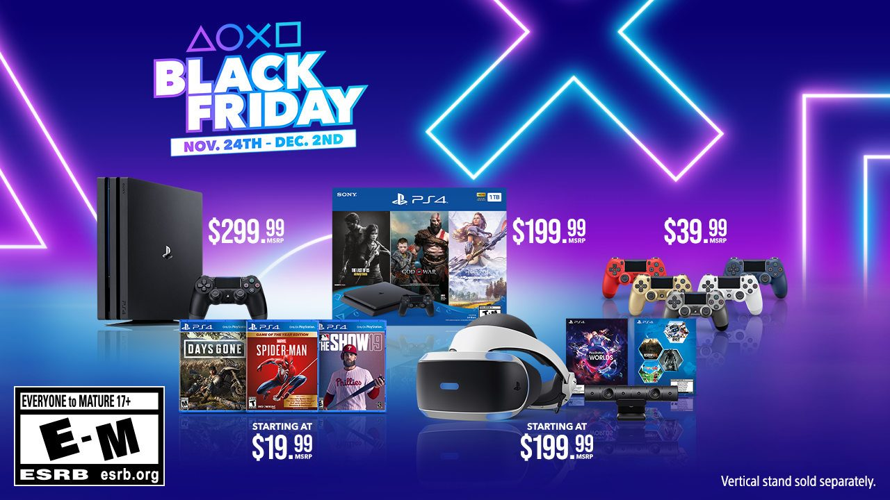 Sony Just Announced All The Best Ps4 Deals For Black Friday And Cyber Monday 2019 Bgr