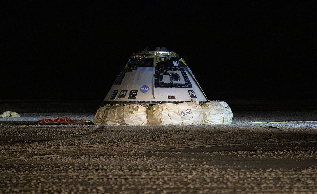 Boeing's Starliner will attempt to redo its failed flight test in March