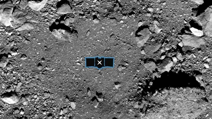 osiris-rex landing site