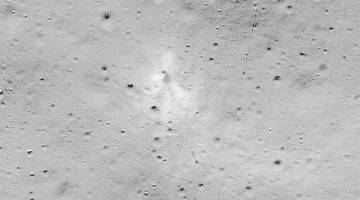 moon lander crash