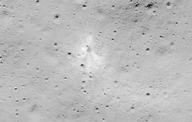 moon lander crash
