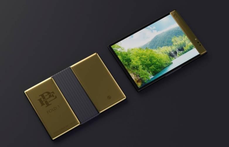 Pablo Escobar Foldable Phone