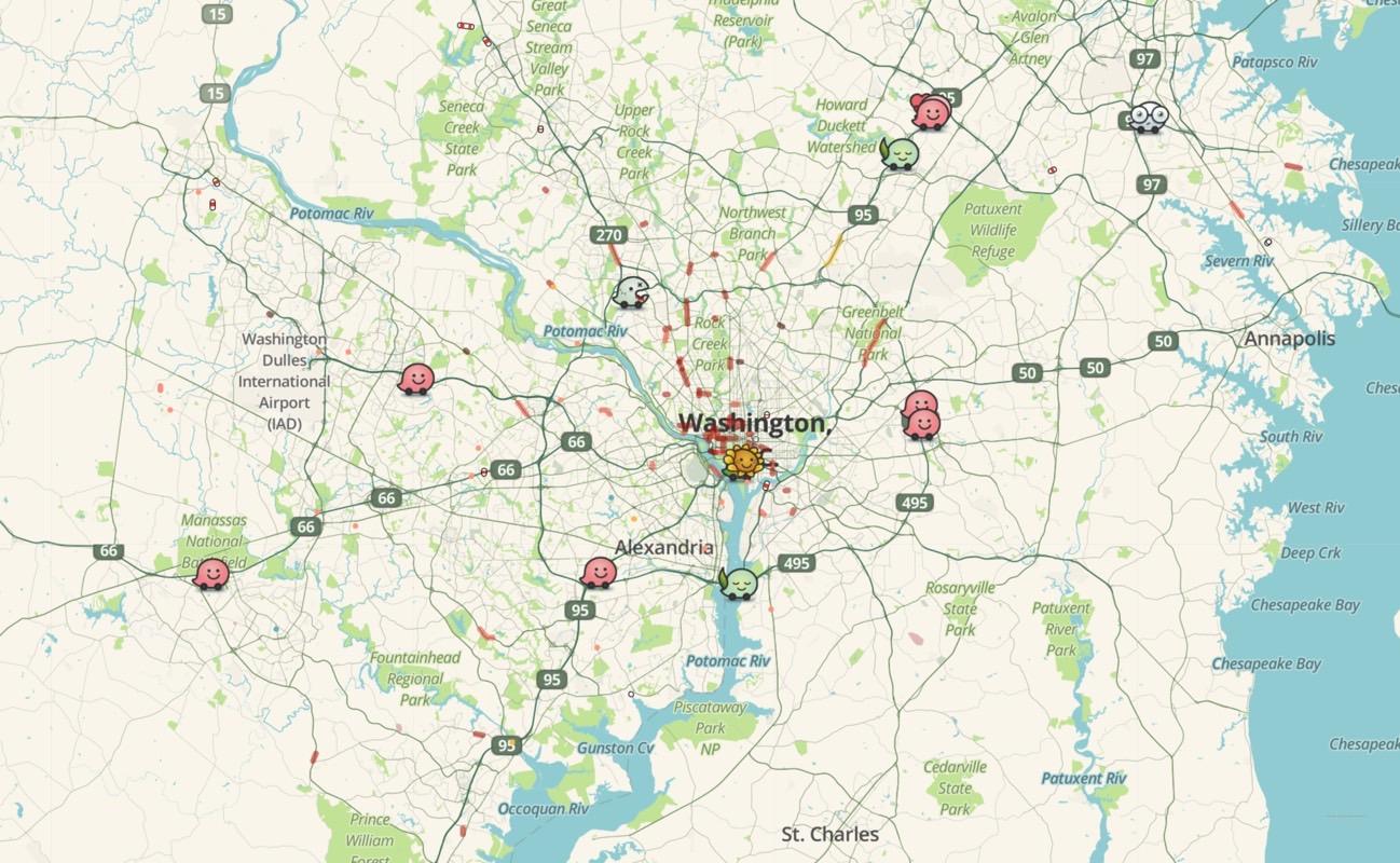 Waze Live Map