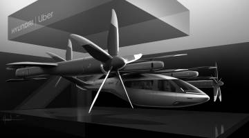 uber hyundai flying taxi
