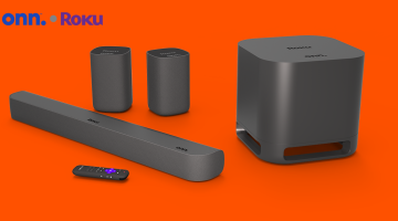 Roku surround sound system