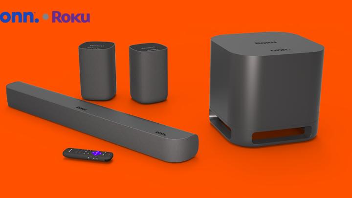 Roku surround sound system