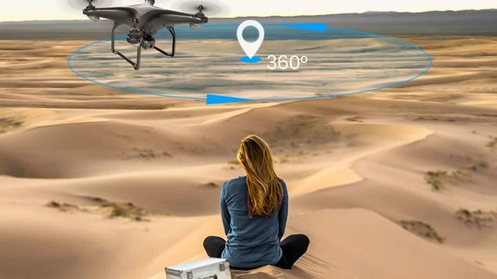 Camera Drone With Auto Follow