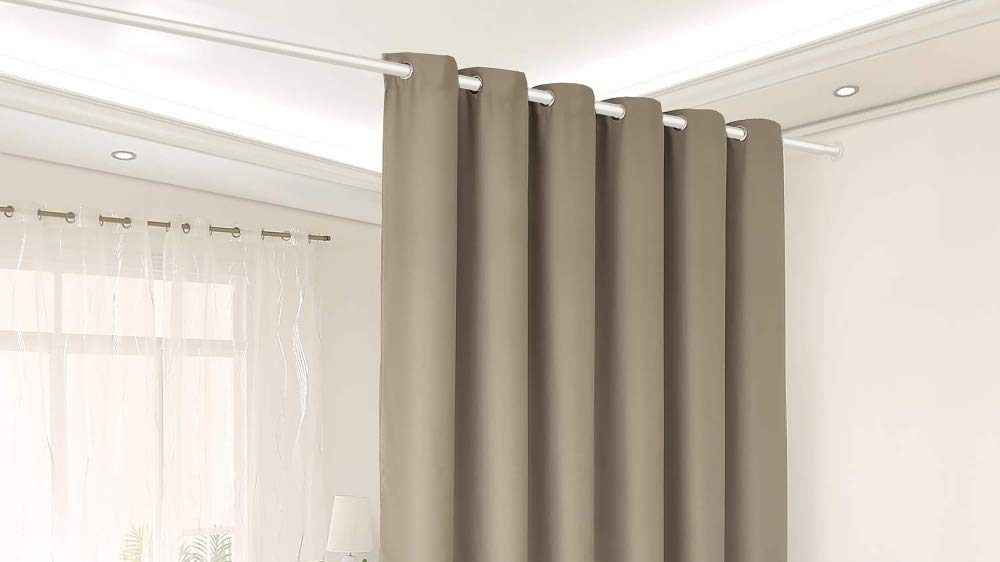 Best Tension Rod For Your Curtains In, Can A Tension Rod Hold Blackout Curtains