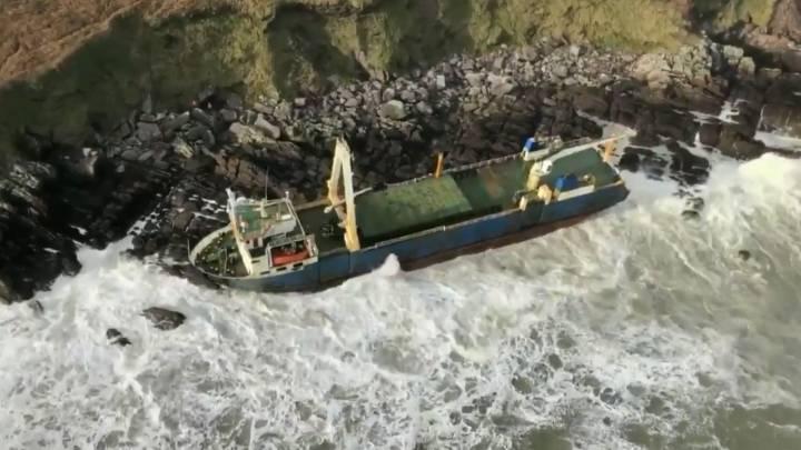 ghost ship ireland