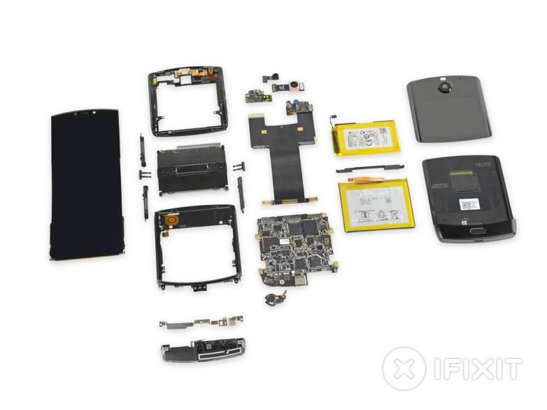 Motorola Razr teardown