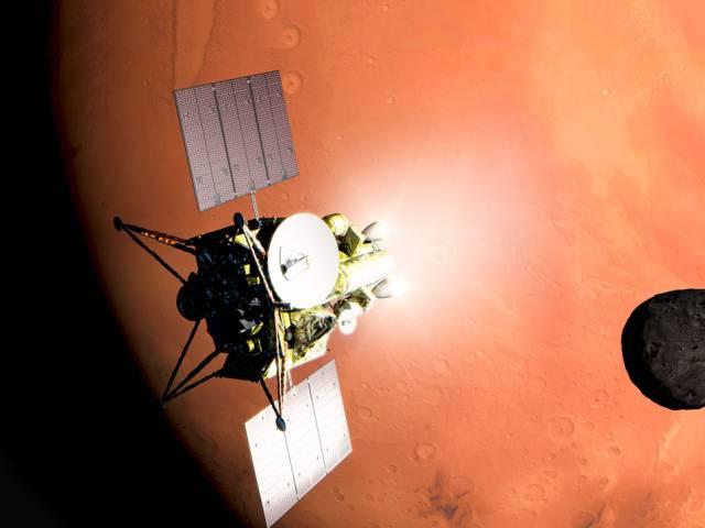 mars phobos mission