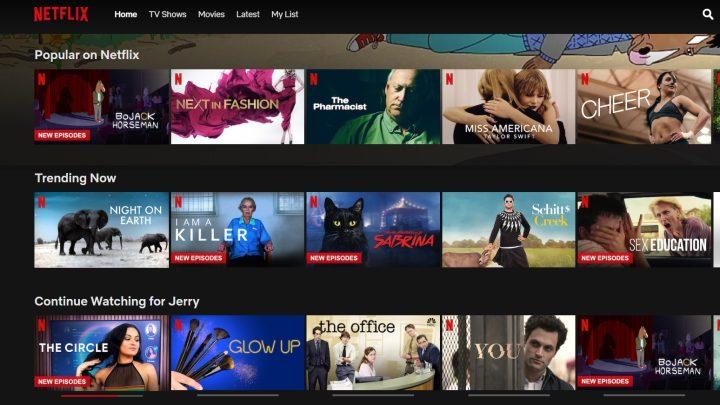 Netflix Continue Watching