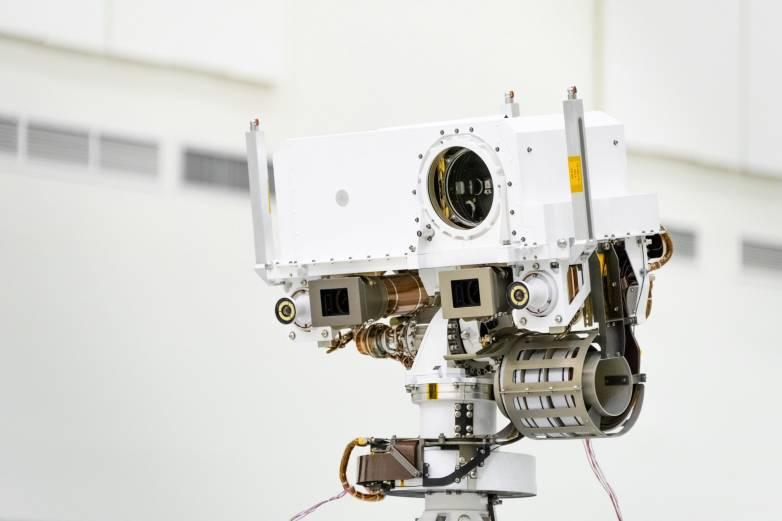 mars 2020 laser