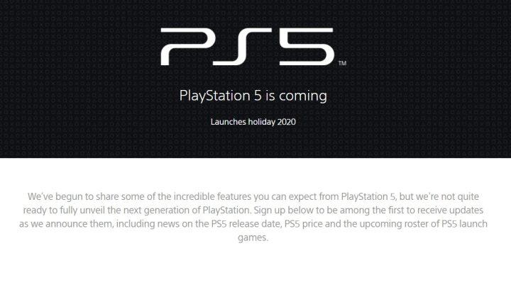 PS5 News Update