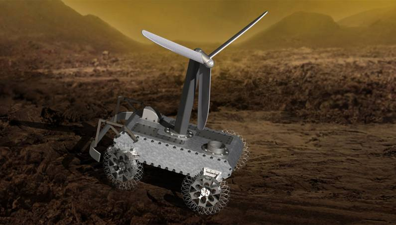 venus rover challenge