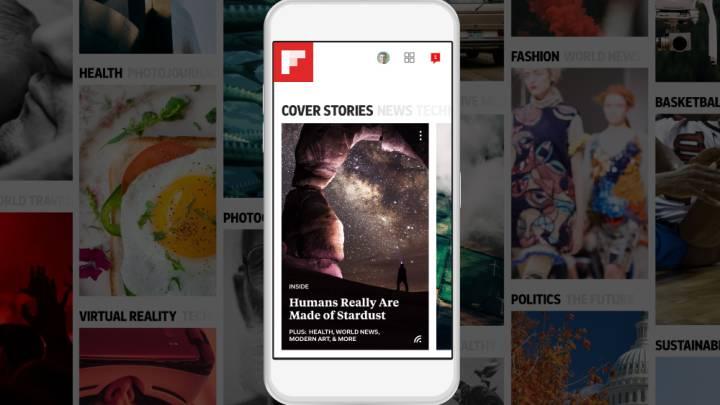 Flipboard app