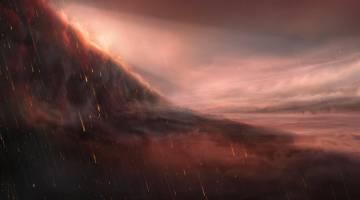 exoplanet rains iron