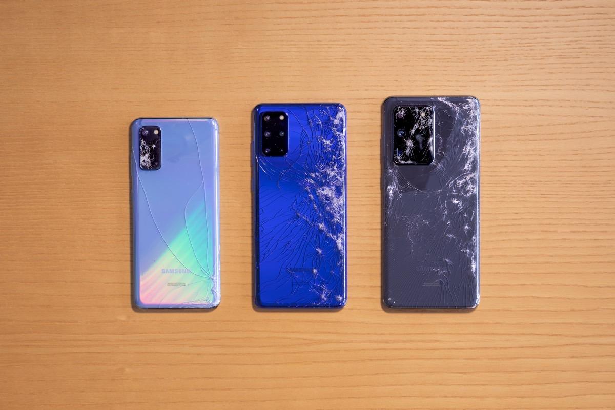 Galaxy S20 Ultra Drop Test