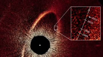 disappearing exoplanet