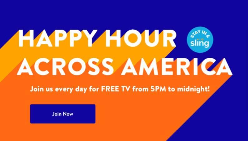 Sling free live TV