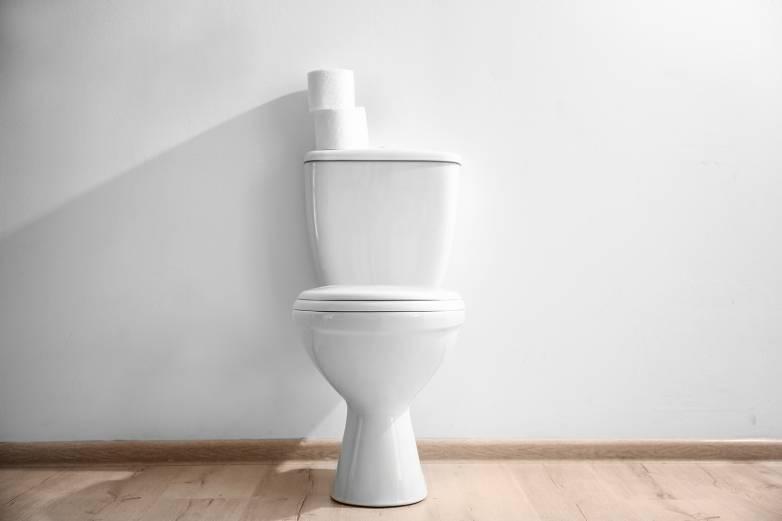 coronavirus toilet
