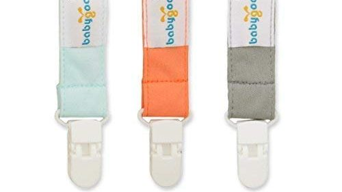 Best Three-Pack Pacifier Clips