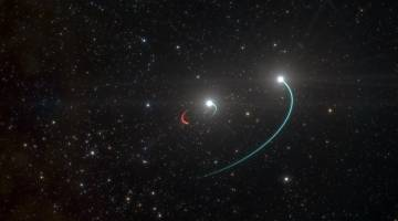 black hole close to earth