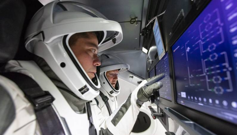 nasa spacex mission