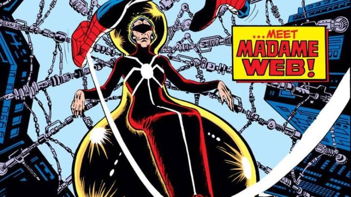 Sony Marvel movie Madame Web