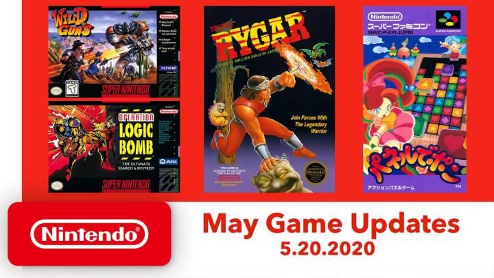 Nintendo Switch Online free games