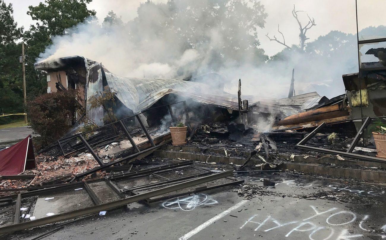 Mississippi church burning