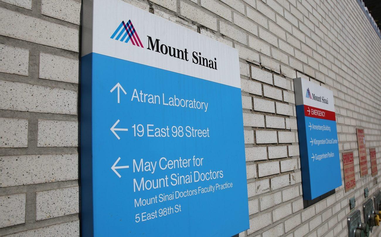Google Mount Sinai Hospital