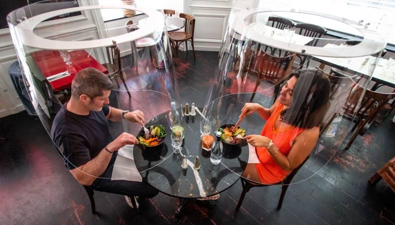 coronavirus restaurant