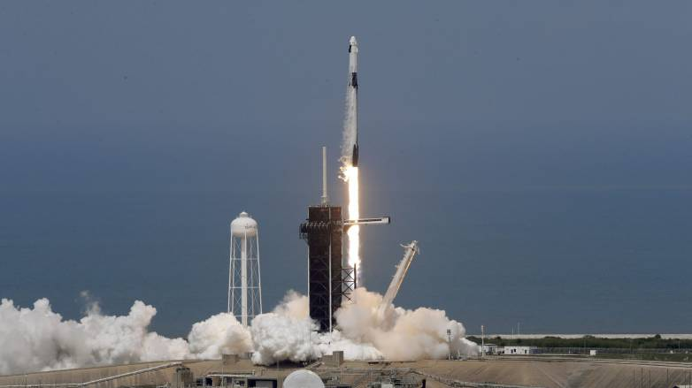 spacex nasa rocket