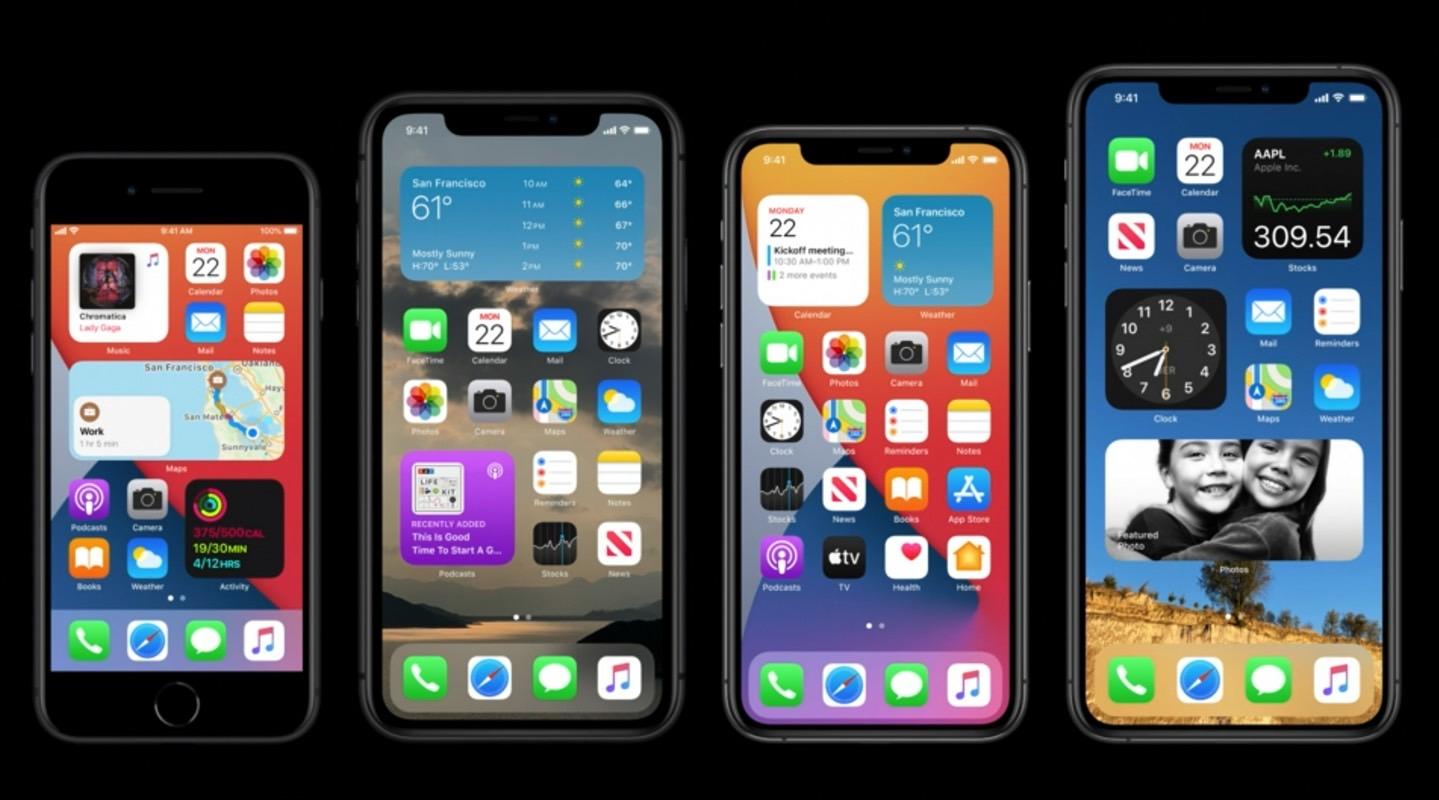iOS 14 reveal WWDC 2020