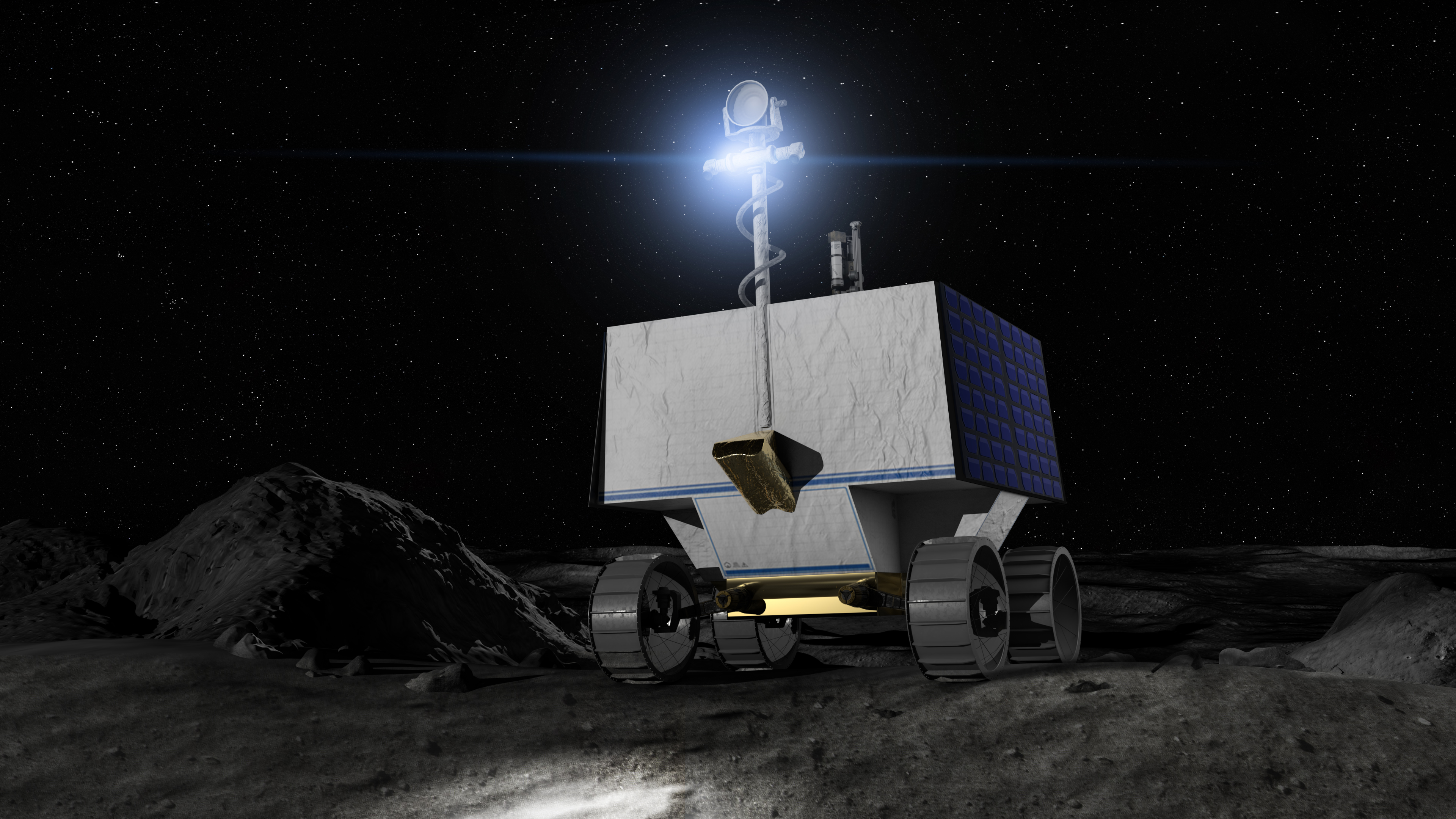 NASA's VIPER mission will break new ground for rovers in a very special way