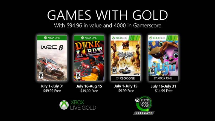 Free Xbox One games