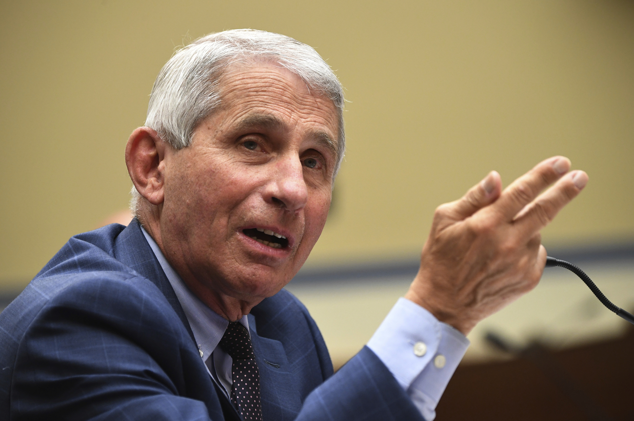 Dr. Fauci says there's a 'silver lining' to the coronavirus pandemic