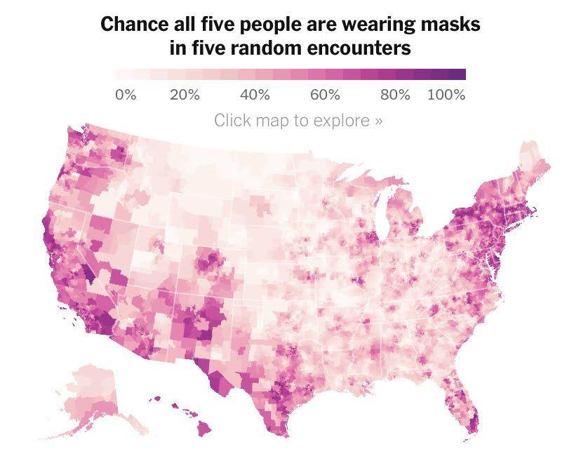 Coronavirus US map