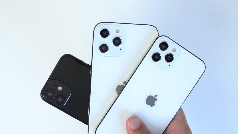 iPhone 12 size comparison