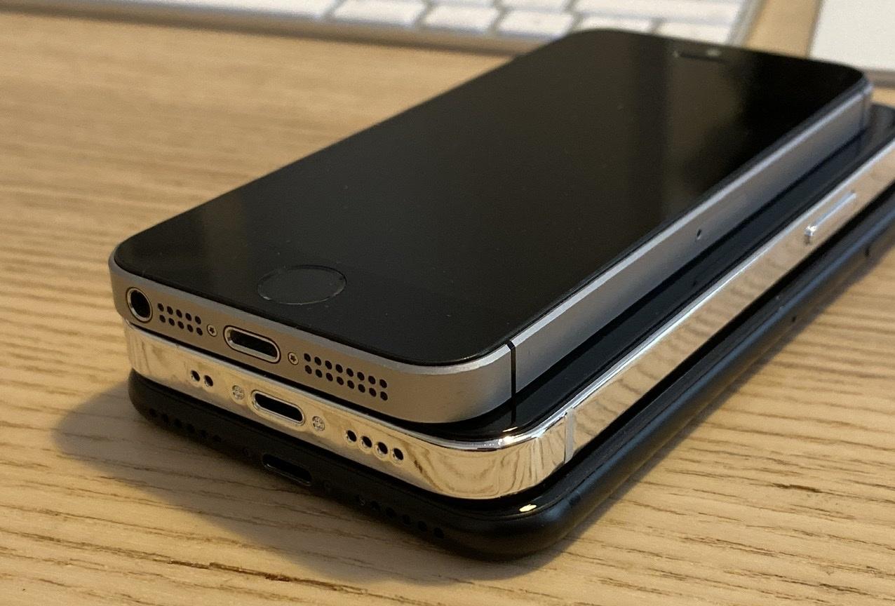 Iphone 12 Size Comparison 5 4 Inch Iphone 12 Vs Iphone 7 Vs Iphone Se Bgr