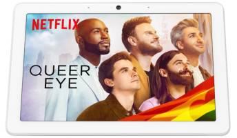 Netflix app on Google's Nest Hub Max