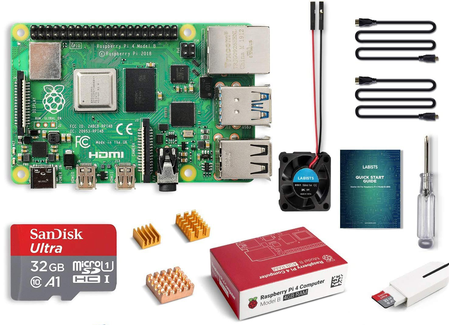 The ultimate Raspberry Pi 4 starter kit is 15% off today at Amazon