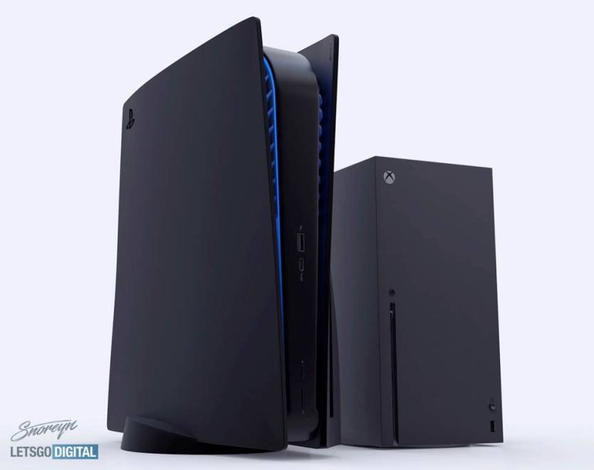 PS5 Size vs. Xbox Series X
