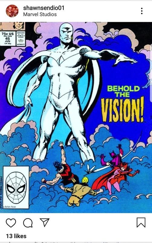 White Vision MCU