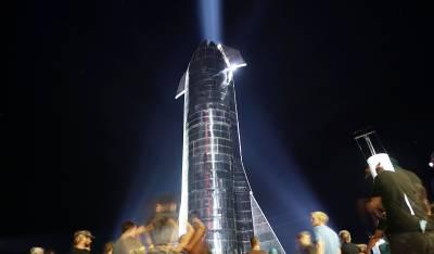 starship explosion