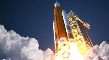 nasa sls rocket test