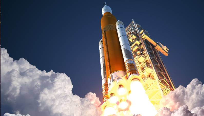 space launch system test