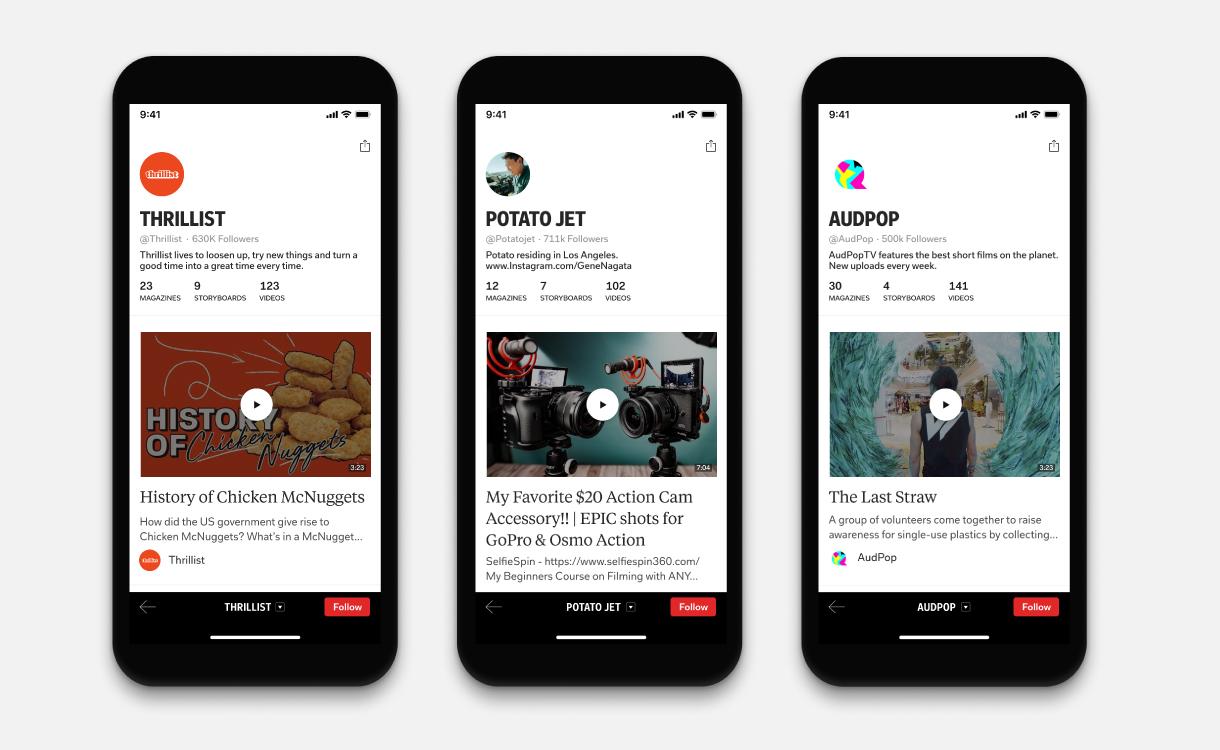 Flipboard news app